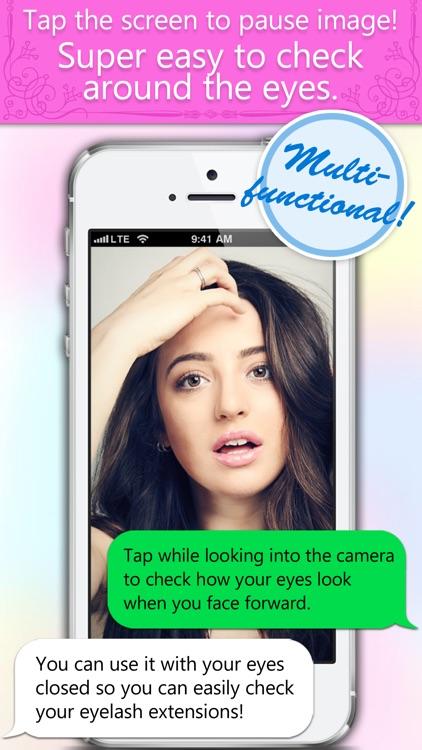 Mirror anywhere, a cute and convenient mirror App, Kagamy screenshot-3