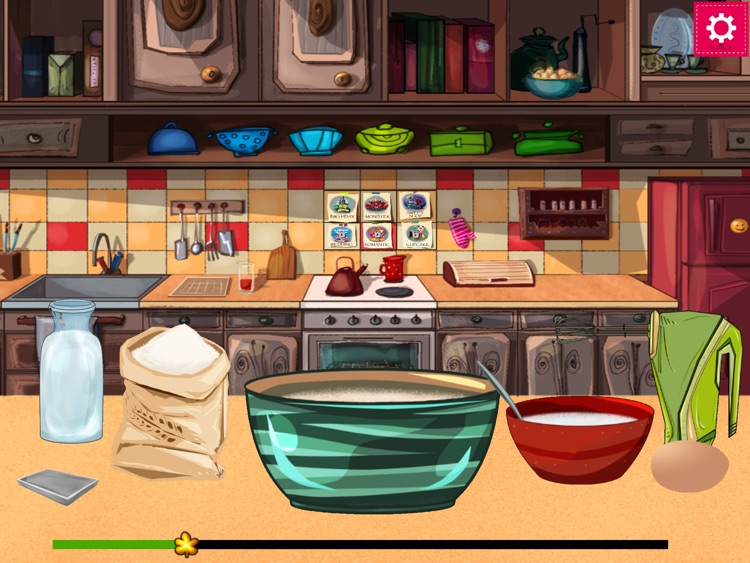 Make a Cake - Cooking Games for kids HD screenshot-0