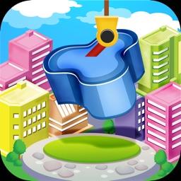 Metropolis Tower Block - Build Your Future Dream City