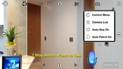 uTrendnetCam: Audio & Record screenshot two