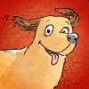 The darned tricky tangled story of the little fat dog -  by Hans Peter Willberg and Peter Beckhaus