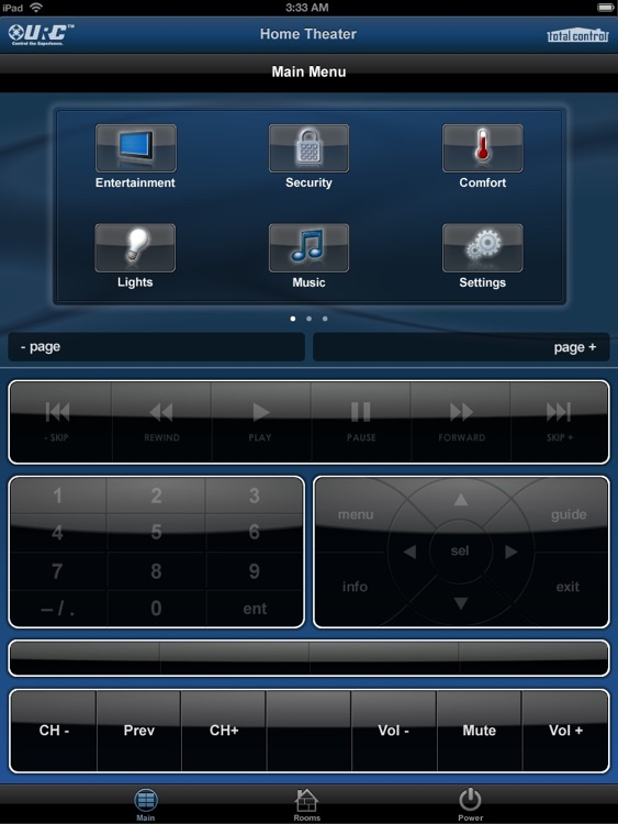 Total Control Mobile Pad