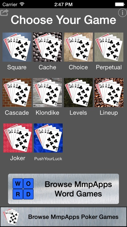 Best of Poker Solitaire