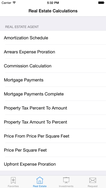 Real Estate Agent and Investor Calculator