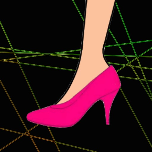 Accurate Choose Right Size Of High-heeled Shoes For Pretty Girl Free icon