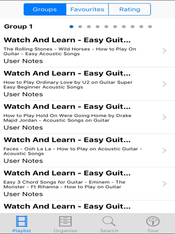 Watch And Learn Easy Guitar Songs App Price Drops