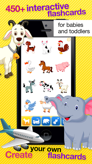 Smart Baby Touch HD - Amazing sounds in toddler flashcards