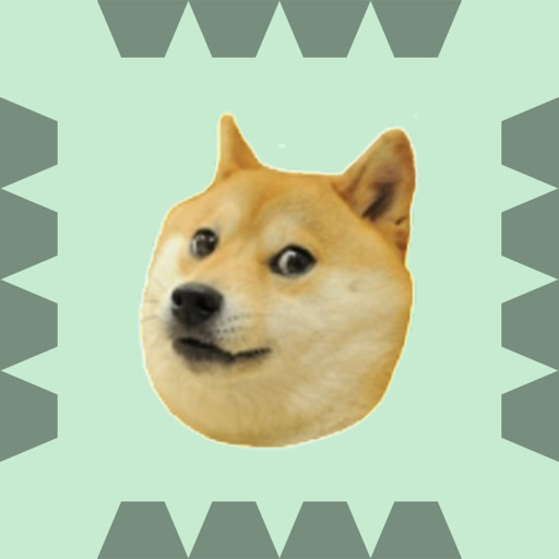 Doge! Jumping through Spikes