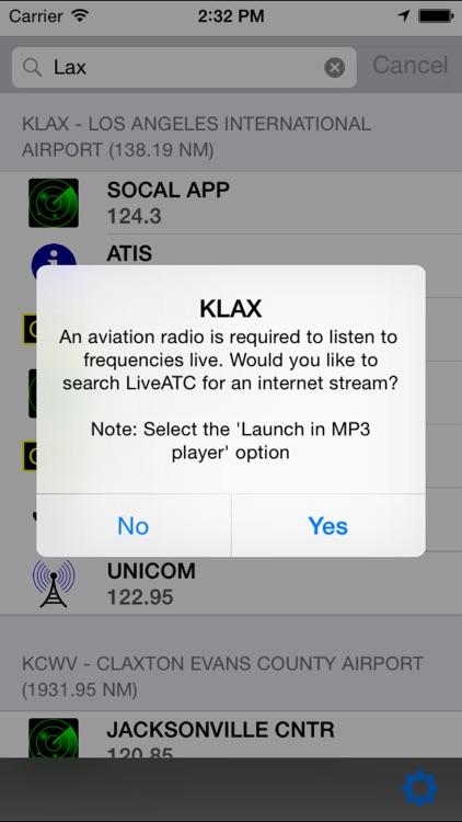 Air Frequencies