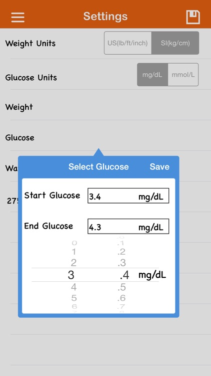 Diabetic Organizer On Go screenshot-3