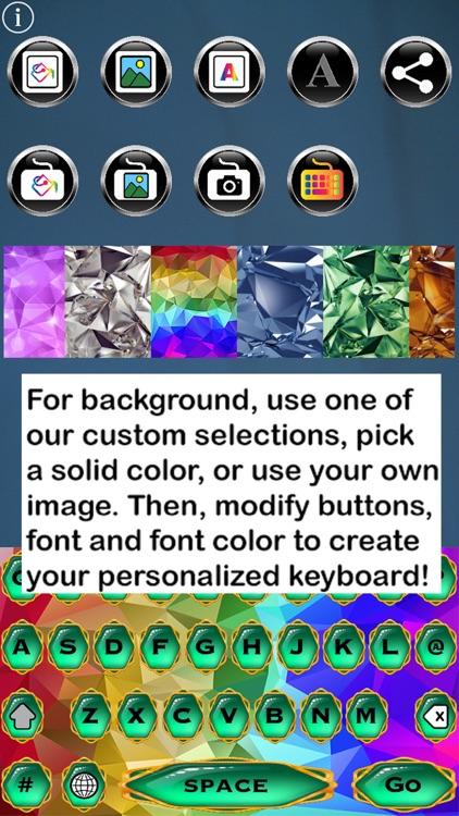 Bling Keys Free Custom Keyboard screenshot-3
