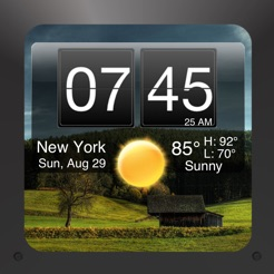 Nightstand Central for iPad Free Alarm Clock with Weather and