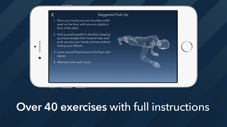 7 Minute Motion-Tracking Workout screenshot-2