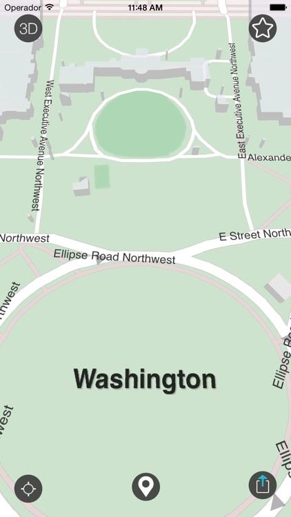 Washington D.C. - Offline Map screenshot-3