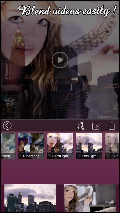 download VideoBlend Pro : Blend or overlay videos to make beautiful video effects apps 3