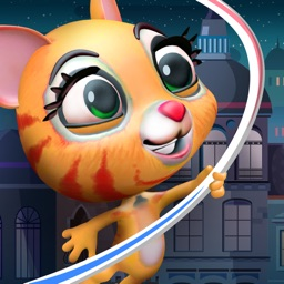 Rope Hero Cat – City Spider Kitty Swinging And Flying Adventure - Game For Kids
