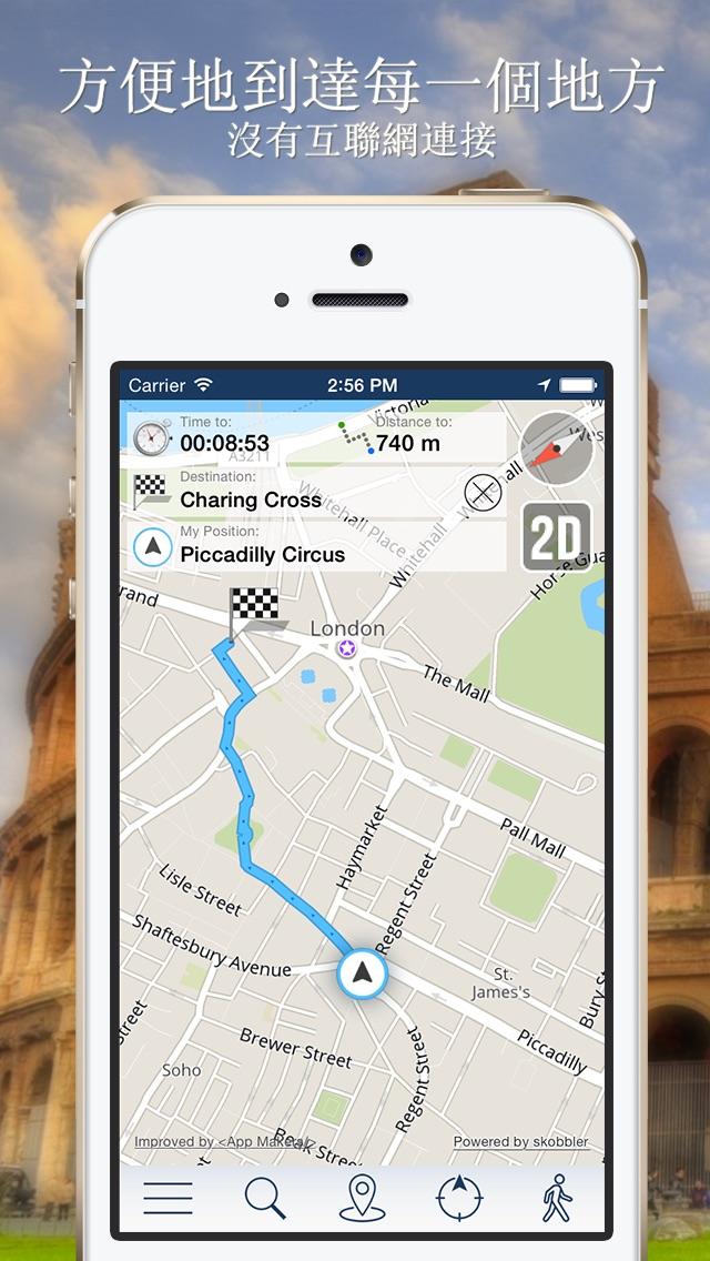 泰國離線地圖+城市指南導航,旅遊和運輸屏幕截圖3