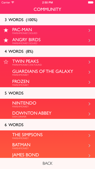 Letterpad - Free Word Puzzles ScreenShot0
