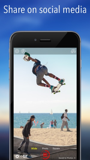 Live Pictures Cam & gif photo maker: A camera for Moving Photos Screenshot
