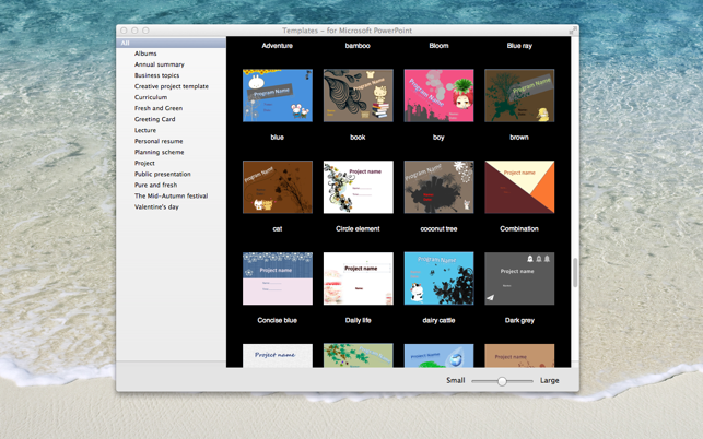 ‎Templates - for MS PowerPoint Screenshot