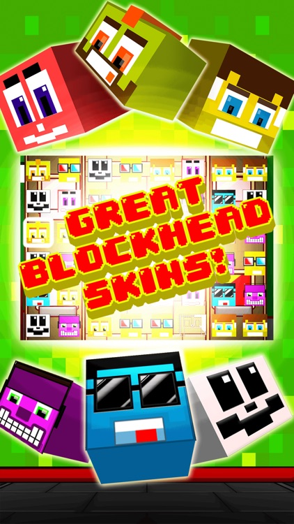 Funny Pixel Faces on Blocks Match 3 Puzzle Game screenshot-4