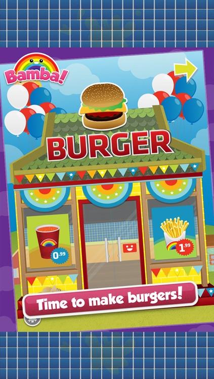 Bamba Burger - Make, Cook, Eat Hamburgers, Sodas & Fries in a Restaurant screenshot-0