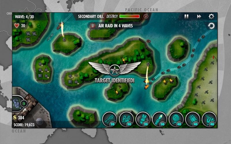 iBomber Defense Pacific screenshot 5