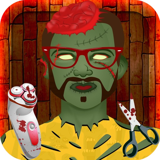 Spooky Zombie Barber icon