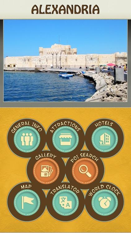 Alexandria City Offline Travel Guide
