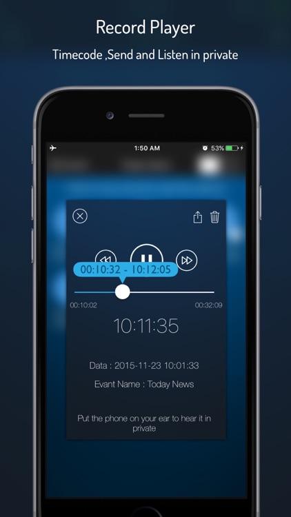 Q-Recorder Pro - Voice Recorder screenshot-3