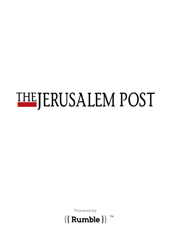 The Jerusalem Post. iPad Edition