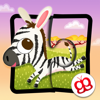 Rompecabezas de animales salvajes 123 para iPad