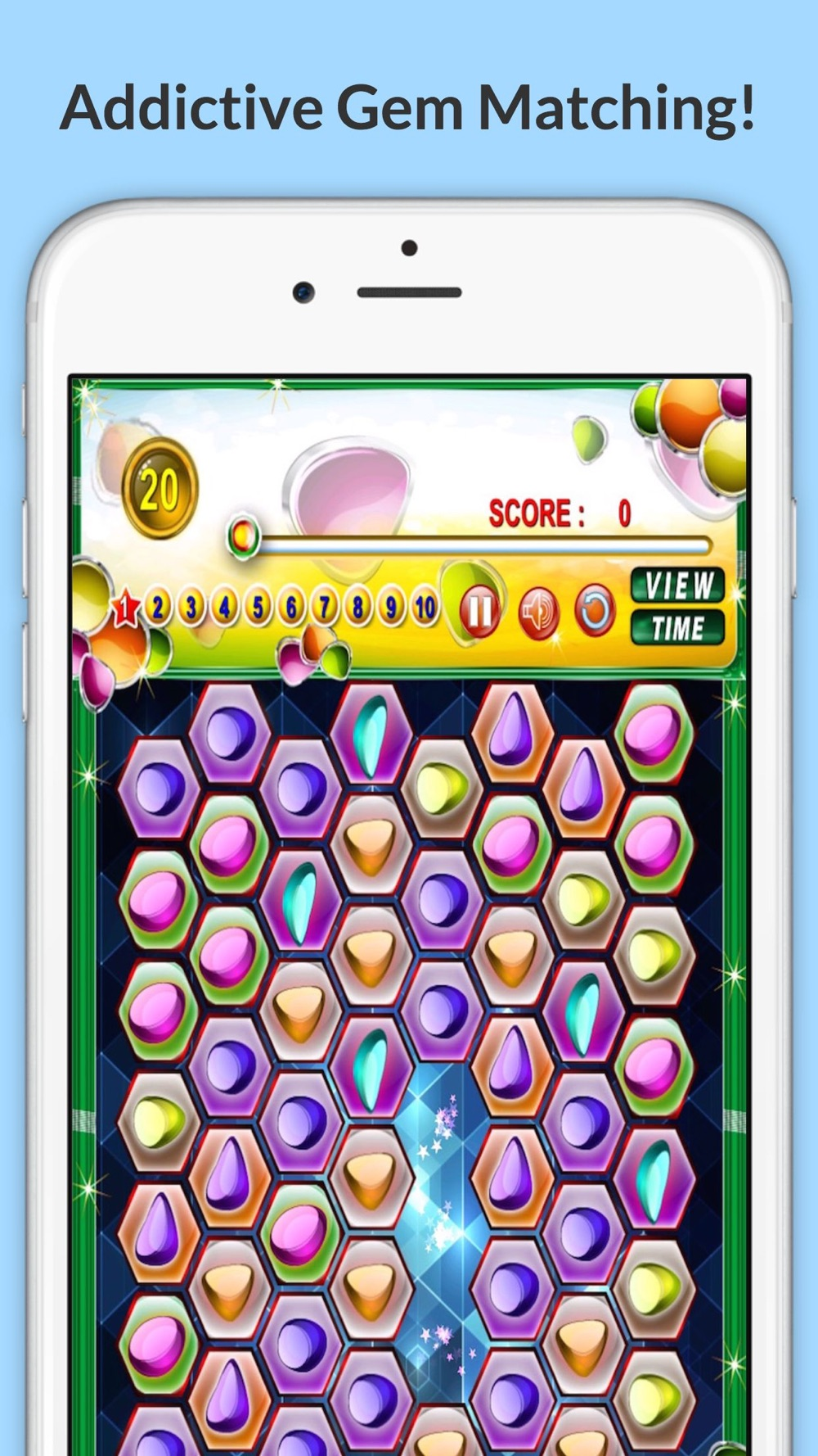 Gem Swap Drop! Pop The Mine Diamond Puzzle Dig-ger with Friends Deluxe 3 hack tool