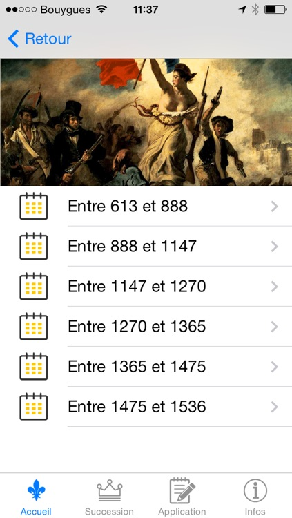 HistoireFrance : Toute l'Histoire de France screenshot-3