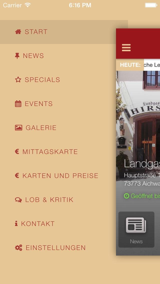 Landgasthof HirschScreenshot von 3