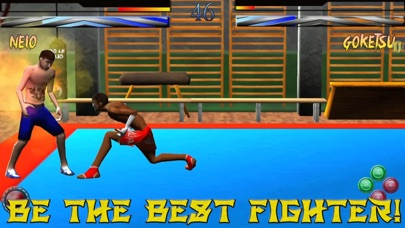 Mortal Street Fighter God Edition Screenshot on iOS