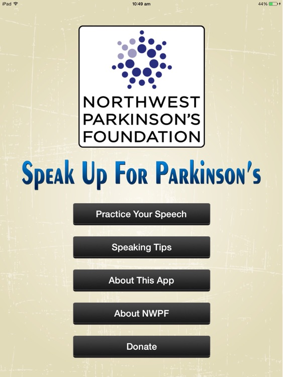 Speak Up For Parkinson's