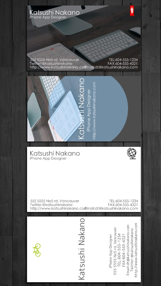 Businesscarddesigner business card maker with airprint by businesscarddesigner business card maker with airprint reheart Choice Image