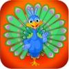 Peacock Pop - Free Fun Cute Puzzle Game!