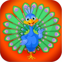 Peacock Pop - Free Fun Cute Puzzle Game!