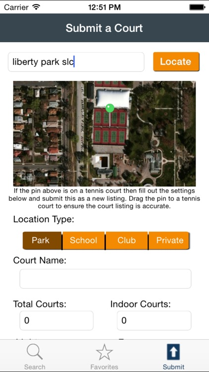 Tennis Court Locator 2.0 screenshot-4