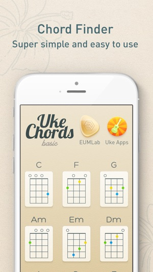 Ukechords Real Fingering Positions For Ukulele Chords On The App Store