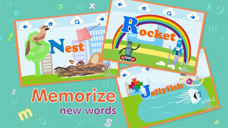 ABCs alphabet phonics games for kids based on Montessori learining approach screenshot-0