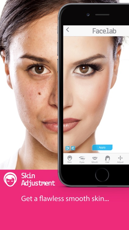 FaceLab - perfect makeover cosmetic retouch & free selfie makeup app