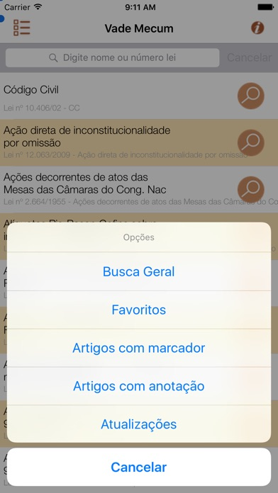 Vade Mecum Pro Direito Brasil Скриншоты7