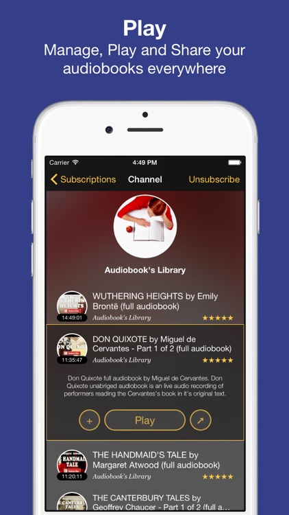 Whisper - Audiobooks, Bestsellers and Stories screenshot-1