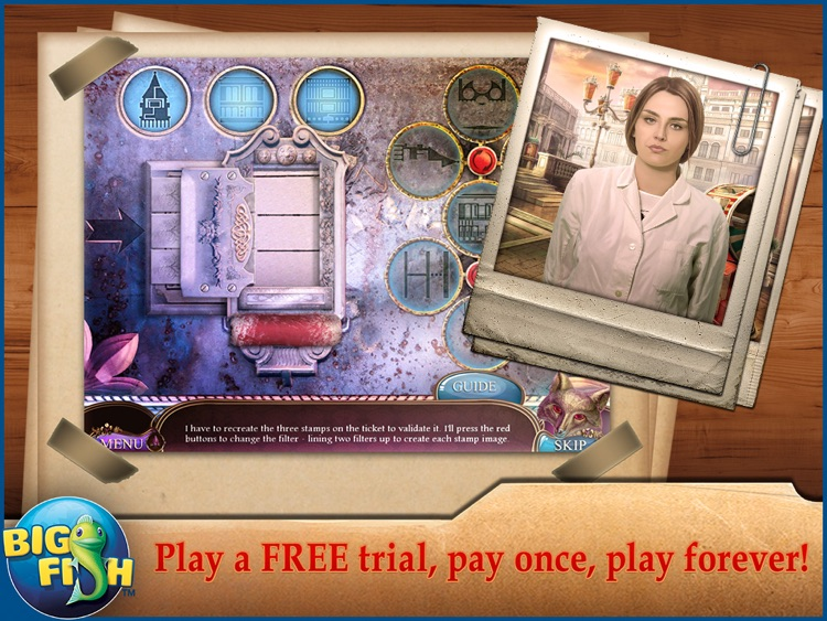 Off the Record: The Italian Affair HD - A Hidden Object Detective Game