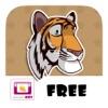 アジアの動物 - 子供のための無料ゲーム