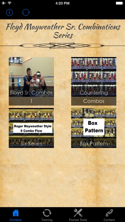 Floyd Mayweather Sr. Combinations Series