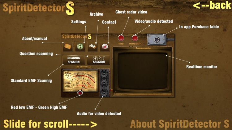 Spirit Detector S screenshot-1